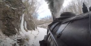 Western Maryland's #734 Final Winter Run
