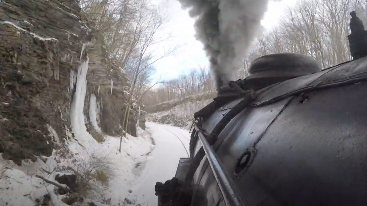 Western Maryland's #734 Final Winter Run | Train Fanatics Videos
