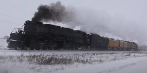 Big Boy #4014 Makes Winter Run