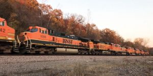 25 Locomotive BNSF Power Move