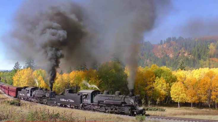 Cumbres & Toltec Fall Double Header | Train Fanatics Videos
