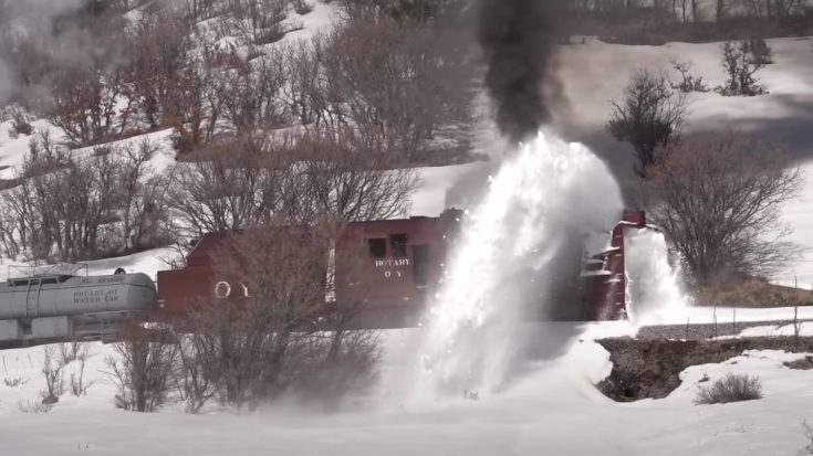 The Cumbres & Toltec RR Rotary Plow | Train Fanatics Videos