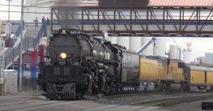 Big Boy Back On The Rails