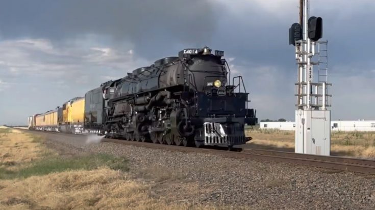 Big Boy #4014 Working Out The Kinks   Train Fanatics Videos