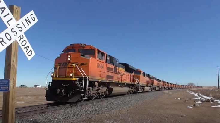 26 Engine BNSF Power Move