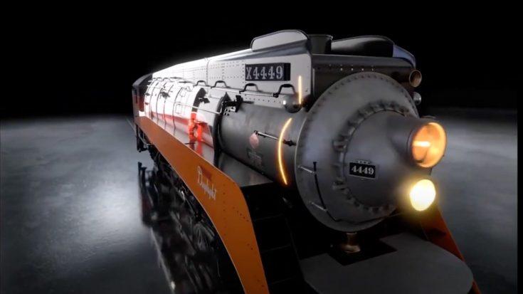 SP 4449 Up Close And Beautiful | Train Fanatics Videos