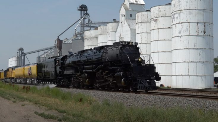 Big Boy #4014 Nebraska Bound | Train Fanatics Videos