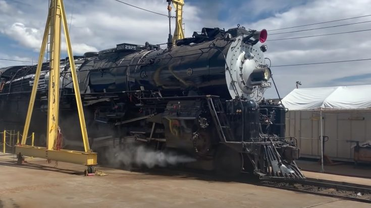 AT&SF #2926 Comes Back To Life   Train Fanatics Videos