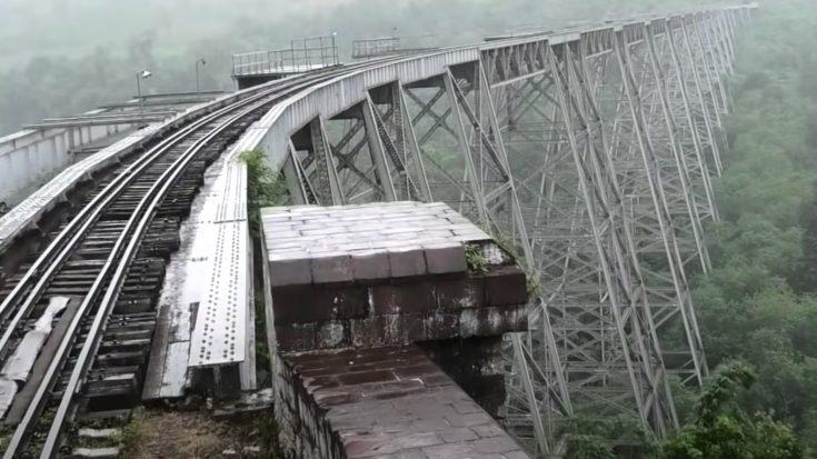Monster Trestle Bridge In the Jungle | Train Fanatics Videos