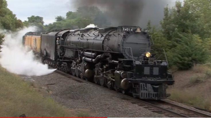 Big Boy #4014 Heading Home | Train Fanatics Videos