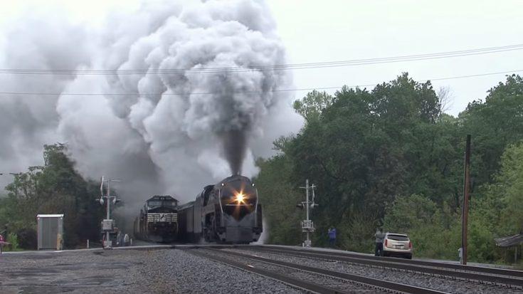 J611 In The Tar Heel State   Train Fanatics Videos