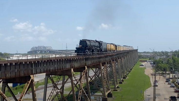 Big Boy #4014 Taking It Slow | Train Fanatics Videos