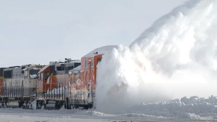 BNSF Rotary In Action
